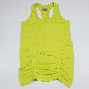 Athleta Fastest Track yellow running workout tank
